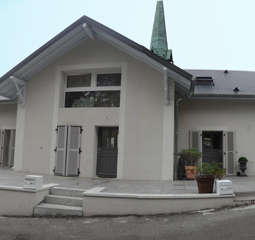 Rénovation à Aix-les-Bains