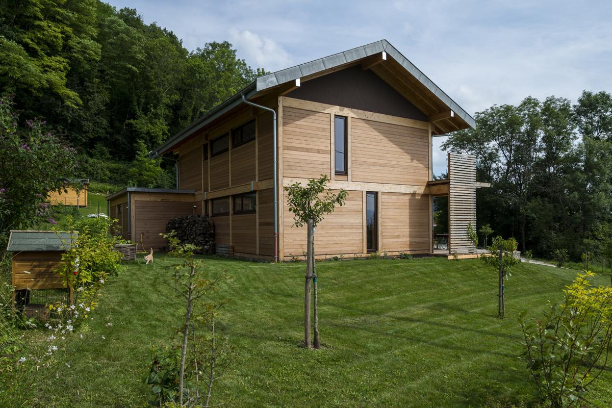 Maisons individuelles tangentes architectes for Maisons individuelles