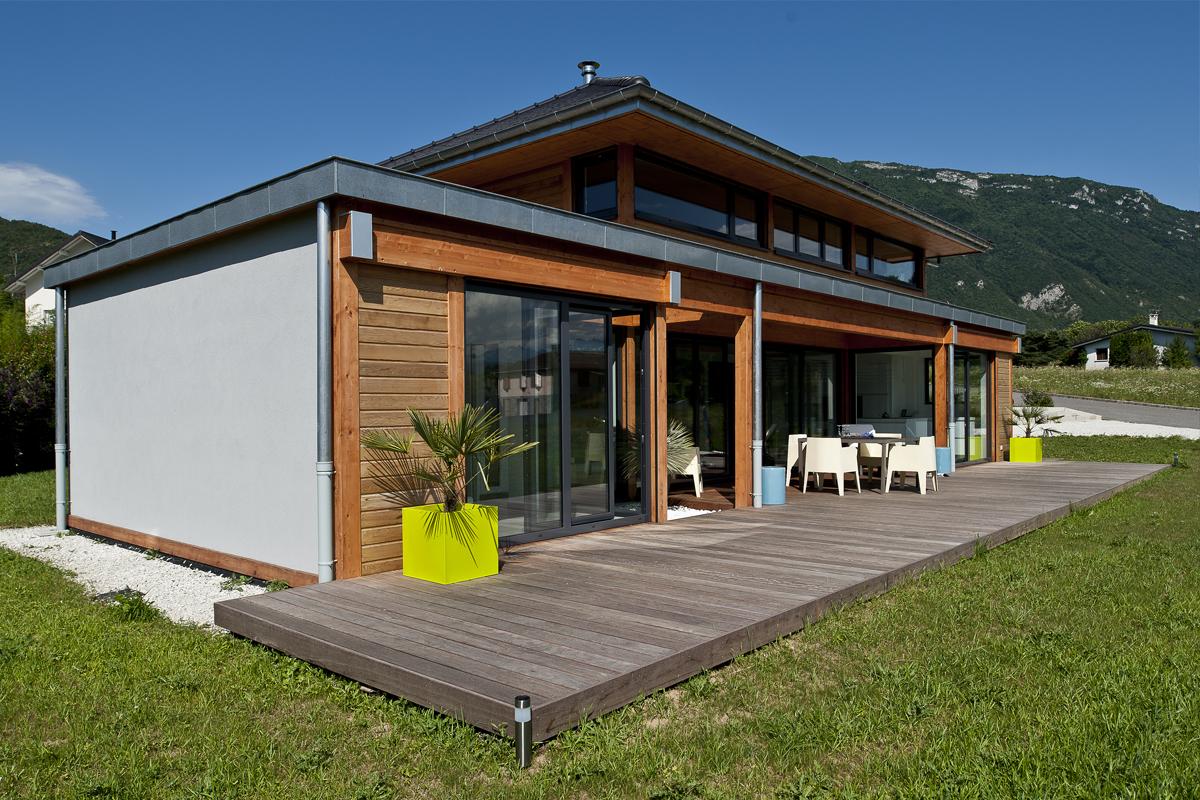 ST JEOIRE PRIEURÉ - 2011 - Construction : Vision Bois