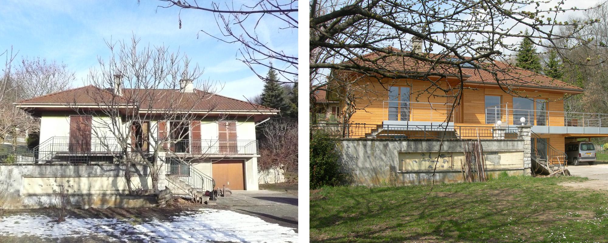 Saint Baldoph - 2010 - Rénovation thermique - Consommation énergétique divisée par 8
